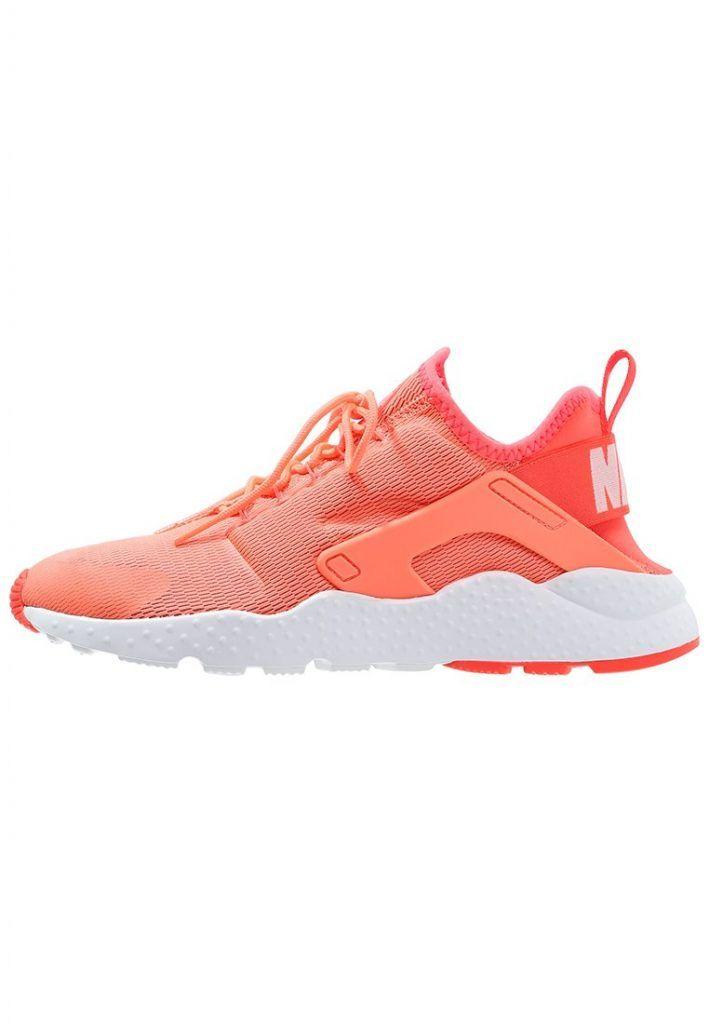Nike Sportswear Air Huarache Run Ultra Sneaker Low Bright Mango White Fur Damen Mit Bildern Sneaker Damen Sneaker Huarache Run