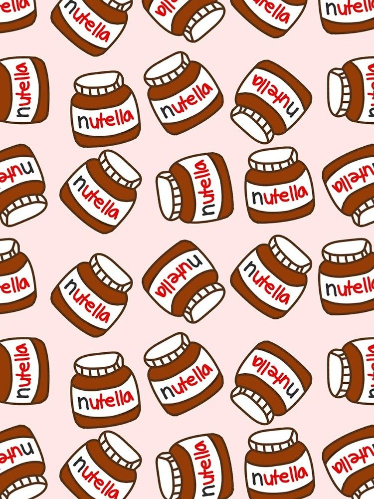 Cute Tumblr Nutella Pattern Iphone Case Cover By Deathspell Tumblr Pattern Tumblr Bubbles Cute Wallpaper For Phone