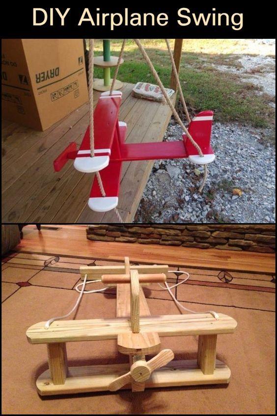 DIY Airplane Swing | The Owner-Builder Network