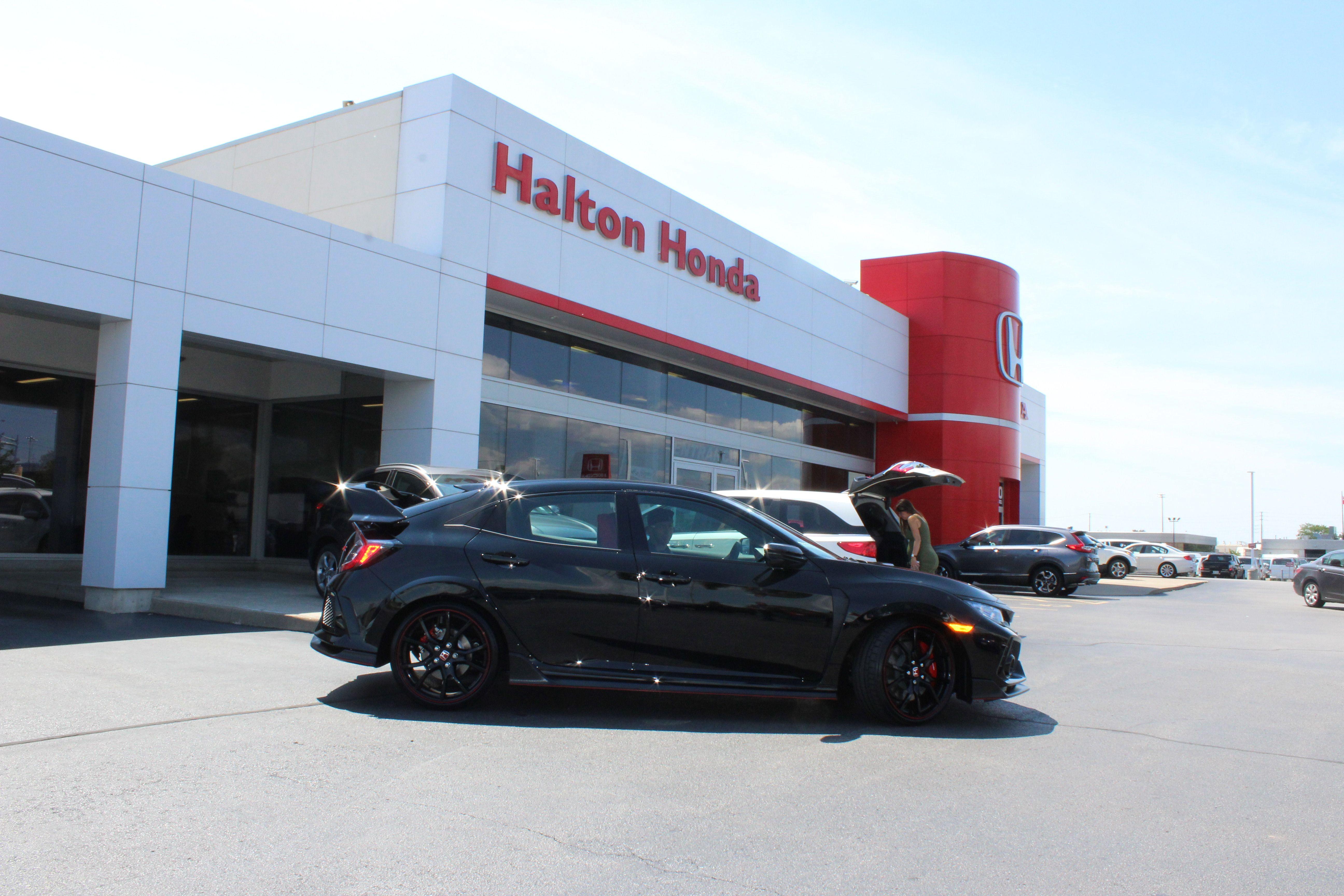 First Civic TypeR delivered! Honda