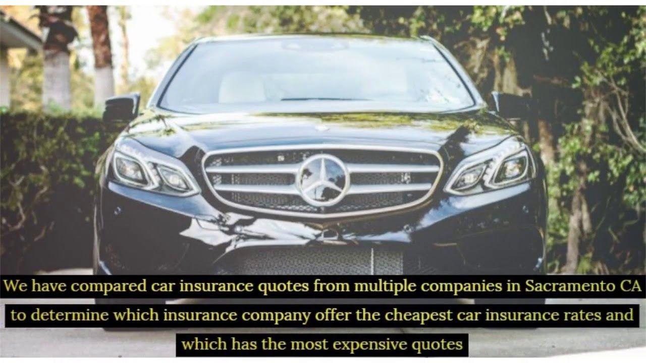 Cheap Car Insurance Sacramento Ca Compared Auto Insurance Rates In