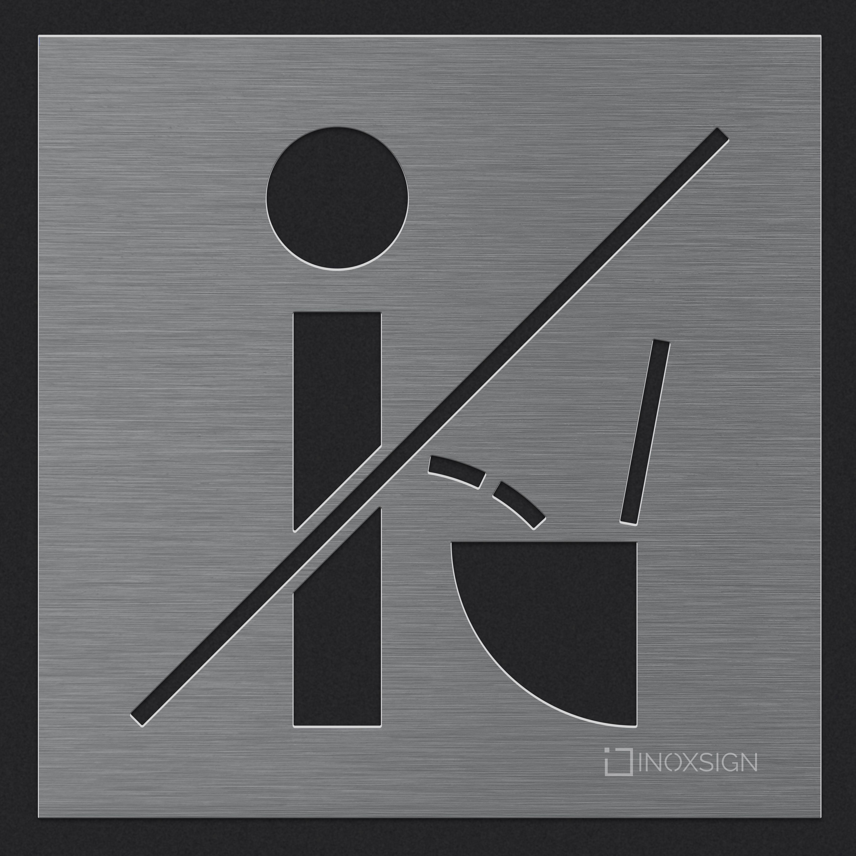 Original Inoxsign Hinweisschilder Sind Erhaltlich Als Toilettenschild Wc Schild Und Turschild Bitte Setzen Sc Wc Schild Toilettenschilder Toiletten Schilder