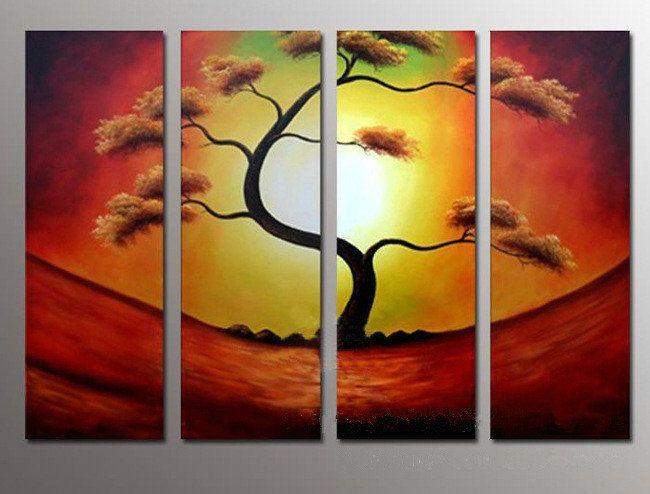 Cuadros a mano óleo sobre lienzo decoración arte Cuadros De Arte ...