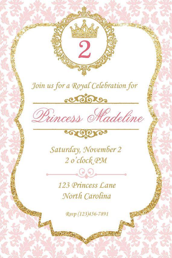Birthday Party Invitation, Party Invitation, Custom Birthday ...