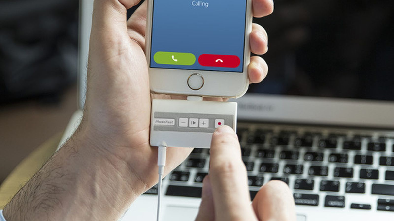 This device will let you record all calls on an iPhone