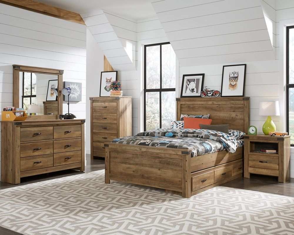 Standard Furniture Warren Collection Panel Bed Set | from ...