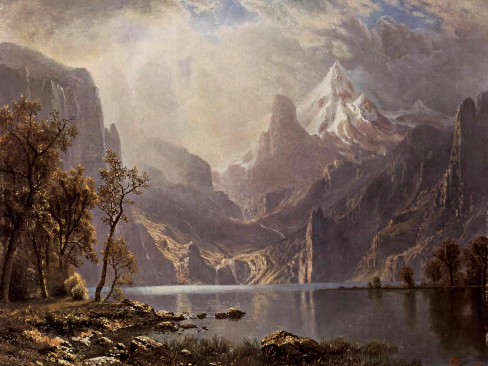 16001200 World Famous Paintings Fine Art Painting Wallpaper