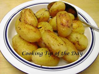 Recipe Garlicy Oven Roasted Potatoes Oven Roasted Potatoes Recipes Canned Potatoes