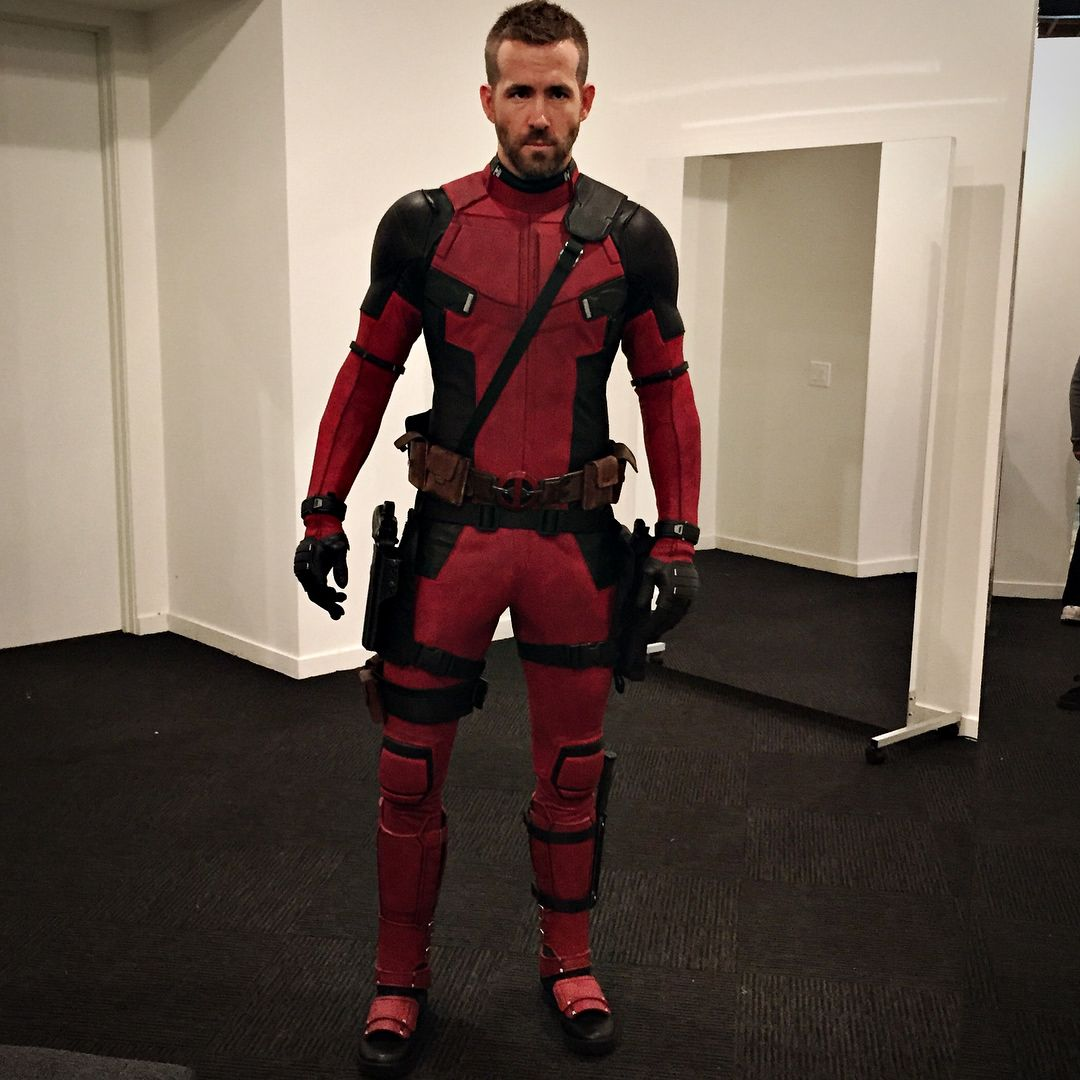 2015. First time trying on the suit. It was so clean back