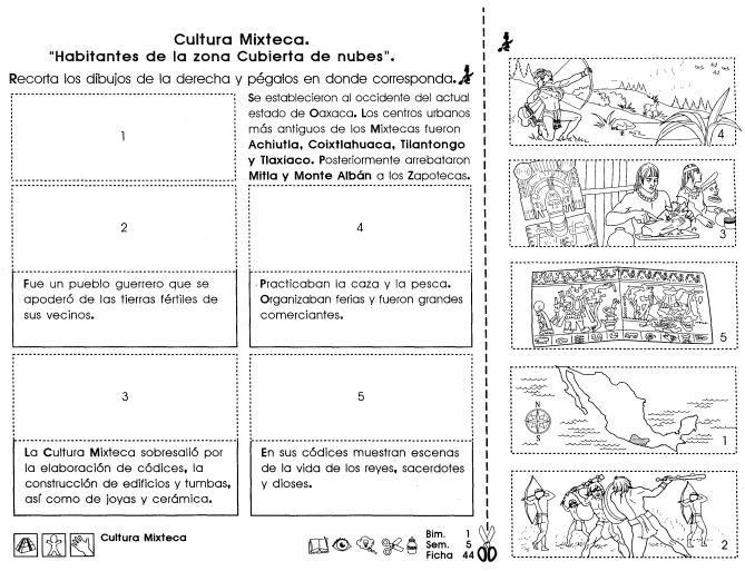 Cultura Mixteca: 4to grado | Social Studies | Enseñanza de ...
