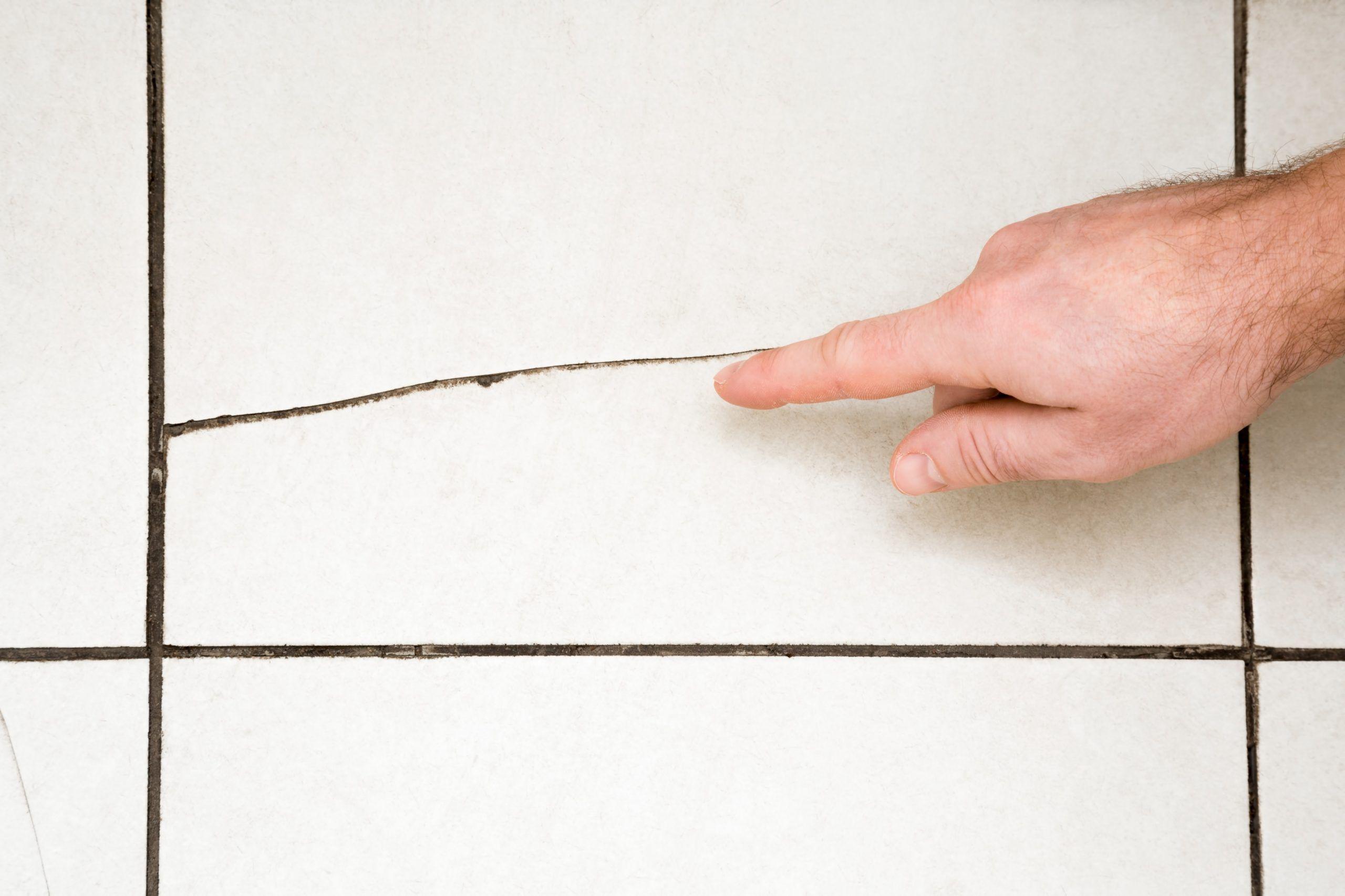 Bathroom Wall Tiles Cracking Tile Repair Cracked Tile Repair Home Repair
