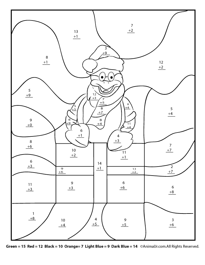 Christmas Winter Math Worksheets For 2nd 3rd And 4th Graders Woo Jr Kids Activities Christmas Math Worksheets Christmas Math Winter Math