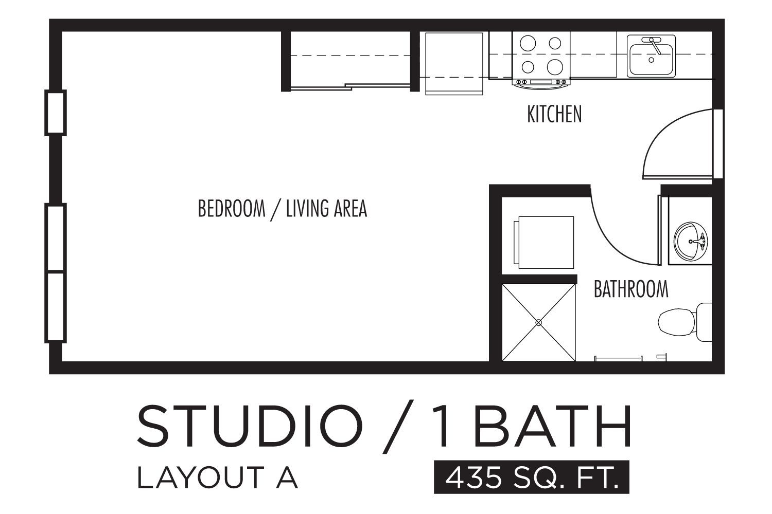Floor Plans For Studio Apts Studio Floor Plans Studio Apartment Floor Plans One Room Apartment