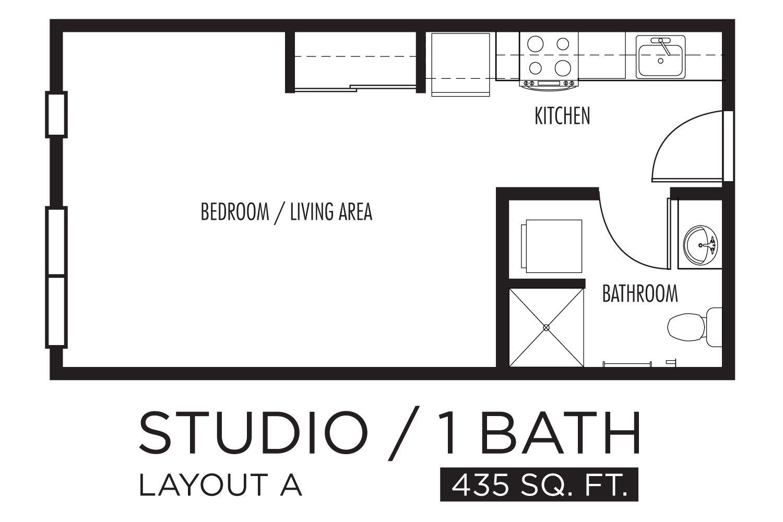 Floor Plans For Studio Apts