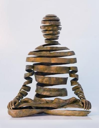 Bronze sculpture by UK artist Sukhi Barber...well connected!!