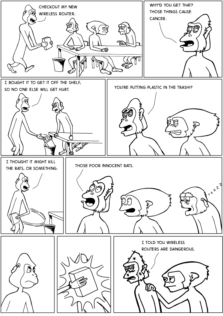 A Comic About The Bandwagon Fallacy Everyone Else Thinks Its Funny