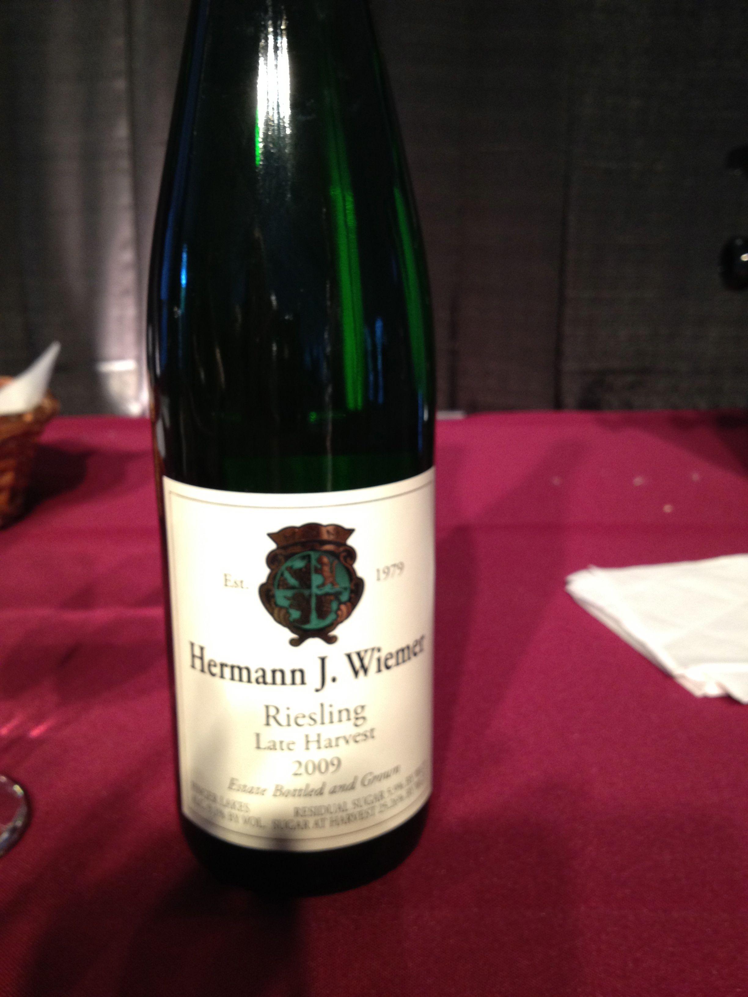 Riesling Herman J Wiemer Food Wine Aspen Wine Bottle Wine Lables Wine Recipes