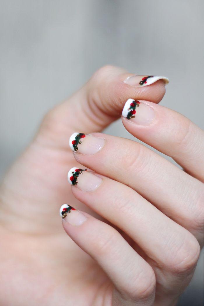 Nägel lackieren Weihnachten