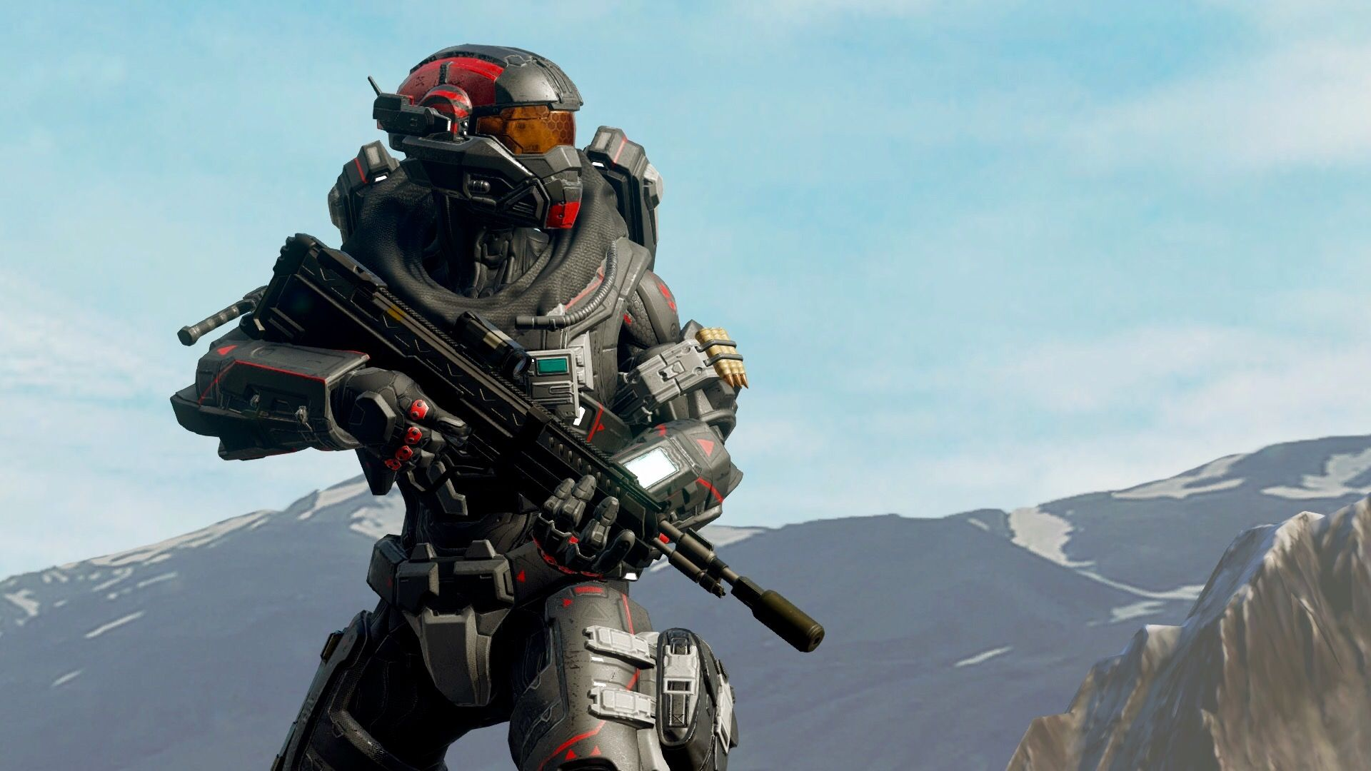 Noble-Inspired Spartan IV | Xbox Games | Halo series, Halo spartan