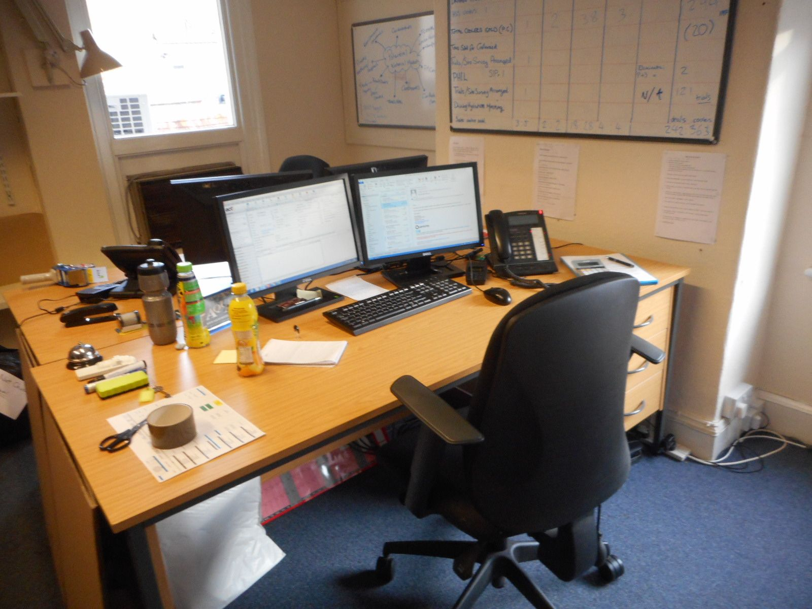 Office desks and chairs to be removed by @CambHouseClear