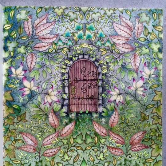Secret Garden Completed Pictures Google Search Colouring