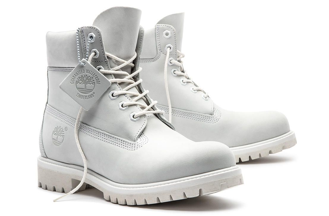 e00ae253fb40 Fear No Stain  The men s Ghost White Limited Release waterproof boots  feature Defender stain blocker and are only available for a short time.