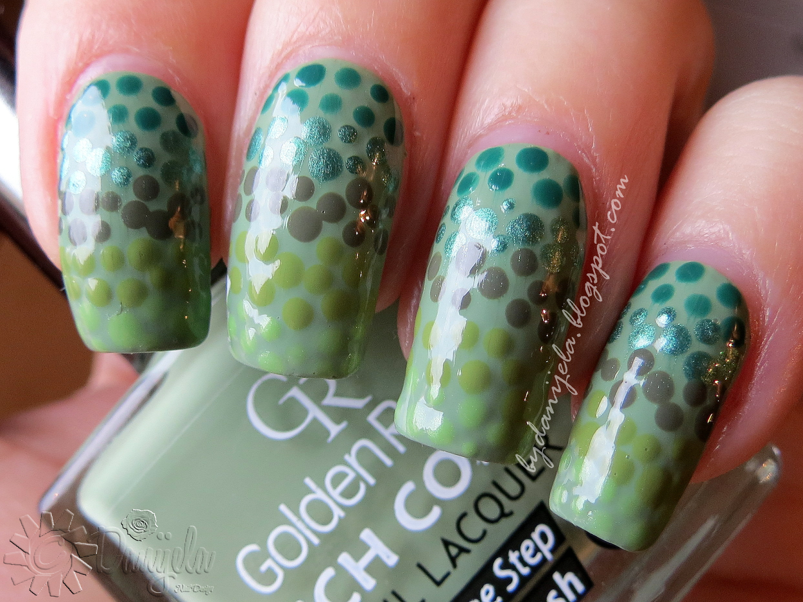Golden Rose Rich color #111 #blog #blogger #review #dots #spots ...