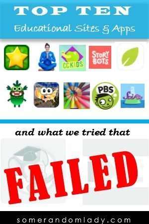 Ten Best Apps for Kids and what we tried that FAILED