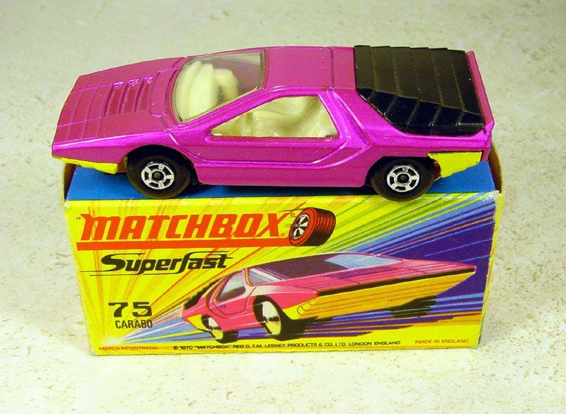 matchbox, einer den ich hatte natürlich