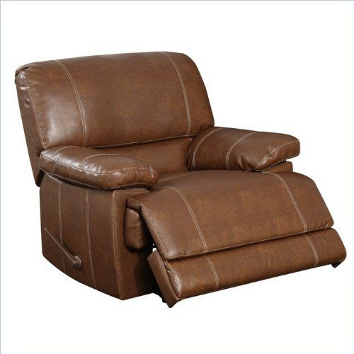 Amazon Com Global Furniture Usa U9963 Bonded Leather Reclining Rocker Brown Leather Power Recli Rocker Recliner Chair Rocker Recliners Kids Recliner Chair