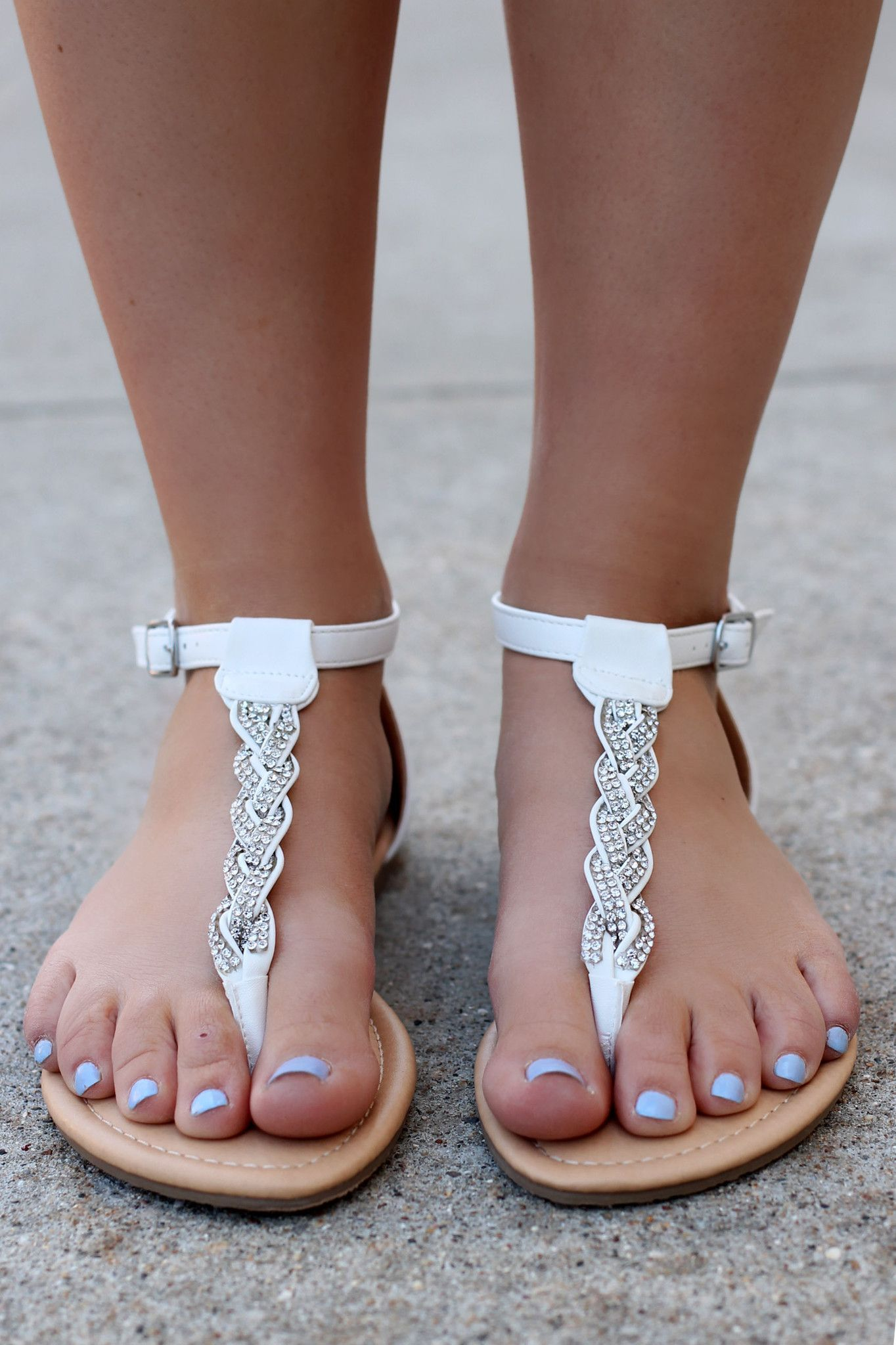 Fancy sandals, Pretty sandals, Ankle
