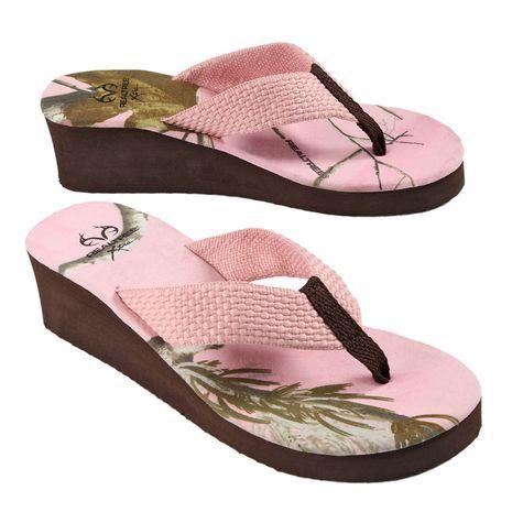823a02ce0cdf6 Realtree Pink Camo Women's Wedge $14.99 #realtreecamo #camoshoes ...