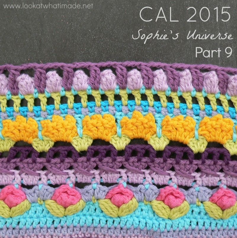 Sophie\'s Universe CAL | Haakdingen.nl | Crochet | Pinterest | Manta ...