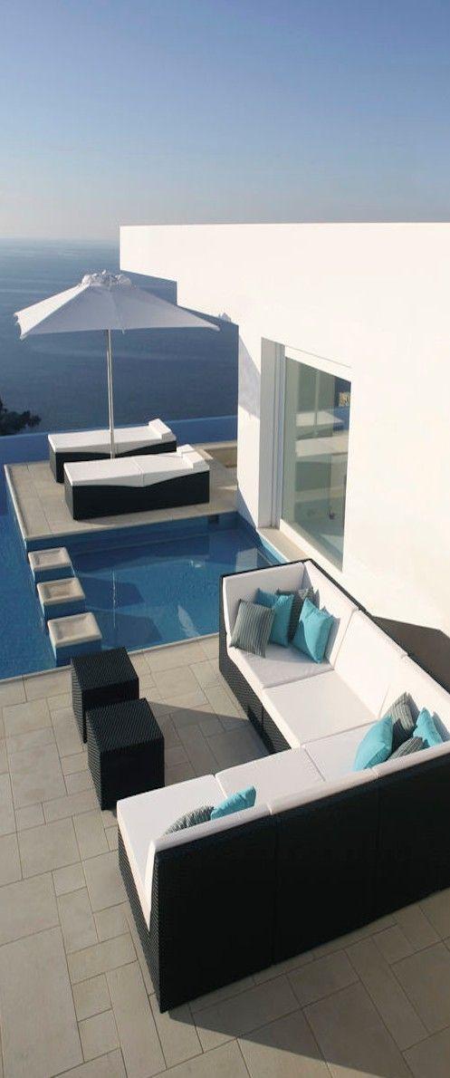 La #piscina y la casa que todo el mundo quisiera tener PISCINAS