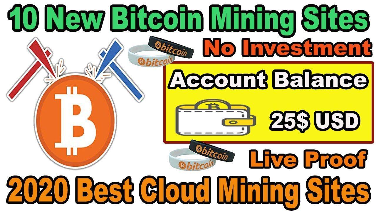 10 New Bitcoin Mining Website 2020 Earn 25 In One Week Earn 0 05 Bt Bitcoin Mining Cloud Mining Bitcoin