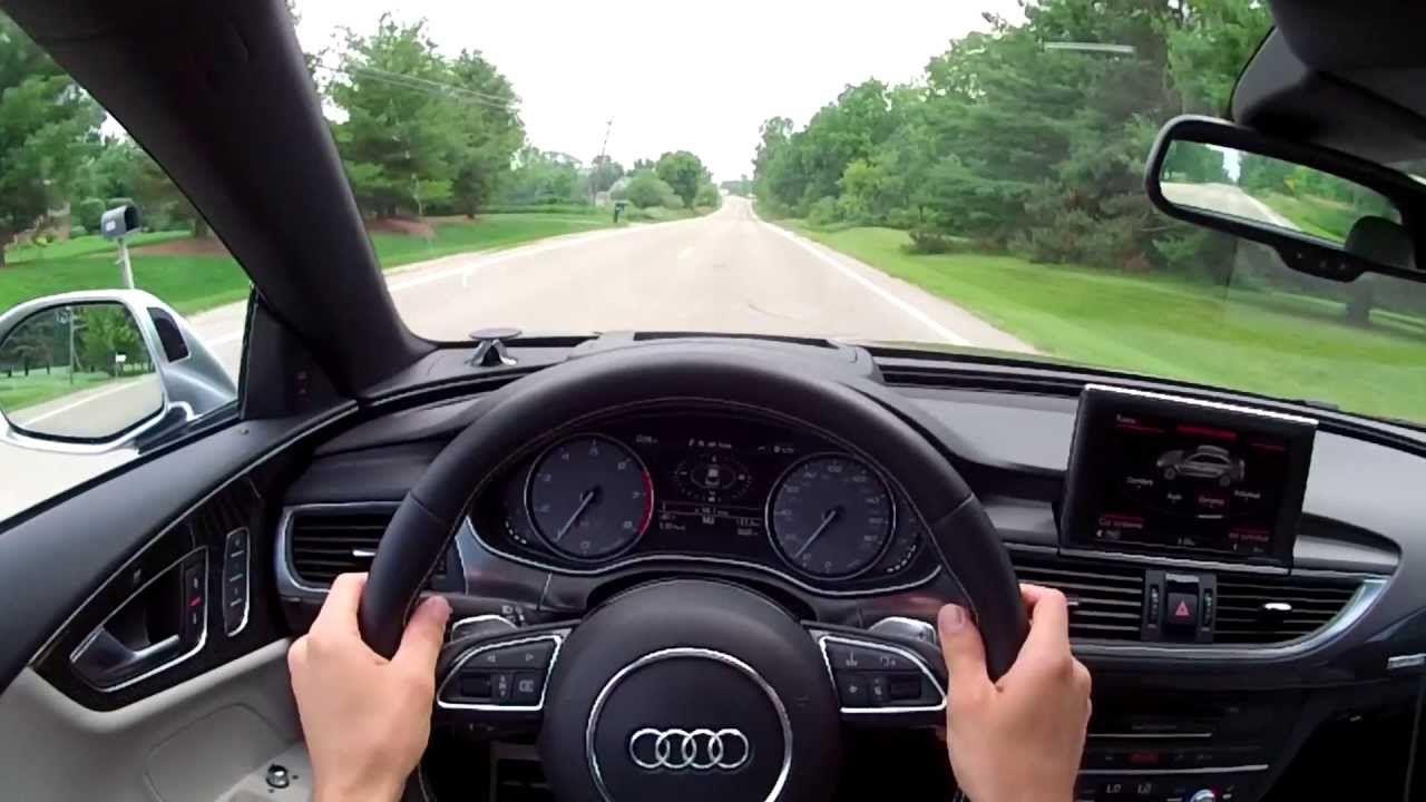 Audi S WR TV POV Test Drive Top Pinterest TVs And Films - Audi test drive