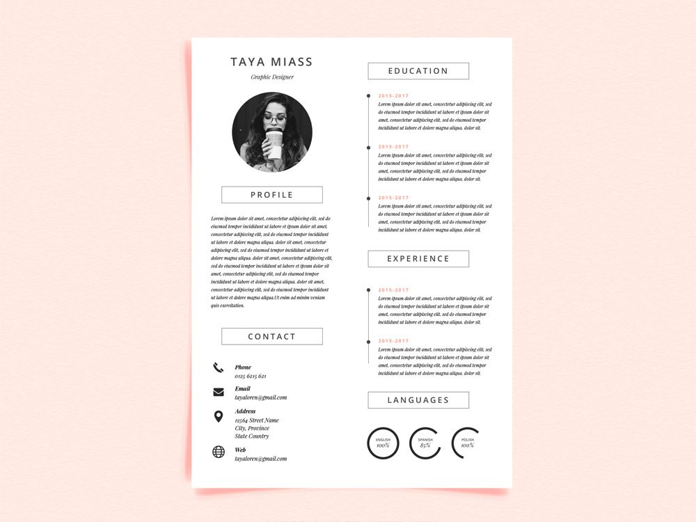 You Only Have 6 Seconds To Impress A Recruiter Make Them Count Get Inspired By This Curated Gallery And Create Your Own Resume For Free Using Our Templates T