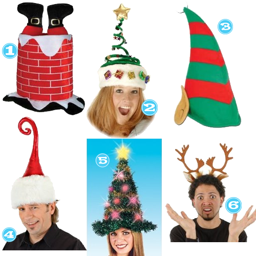 funny christmas hats | Labels: costumes | Xmas ideas | Pinterest ...