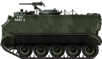 FMC T117 prototype USA 1949  | M113 interest | Military