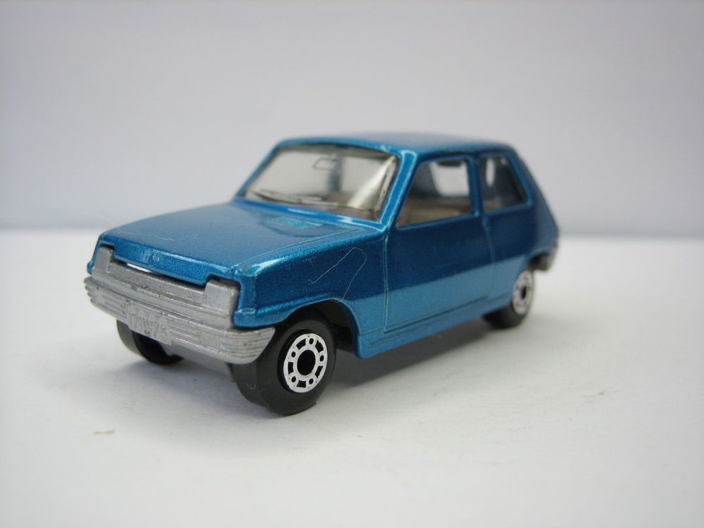 Diecast Matchbox Superfast Renault 5 Tl No 21 Blue Very Good