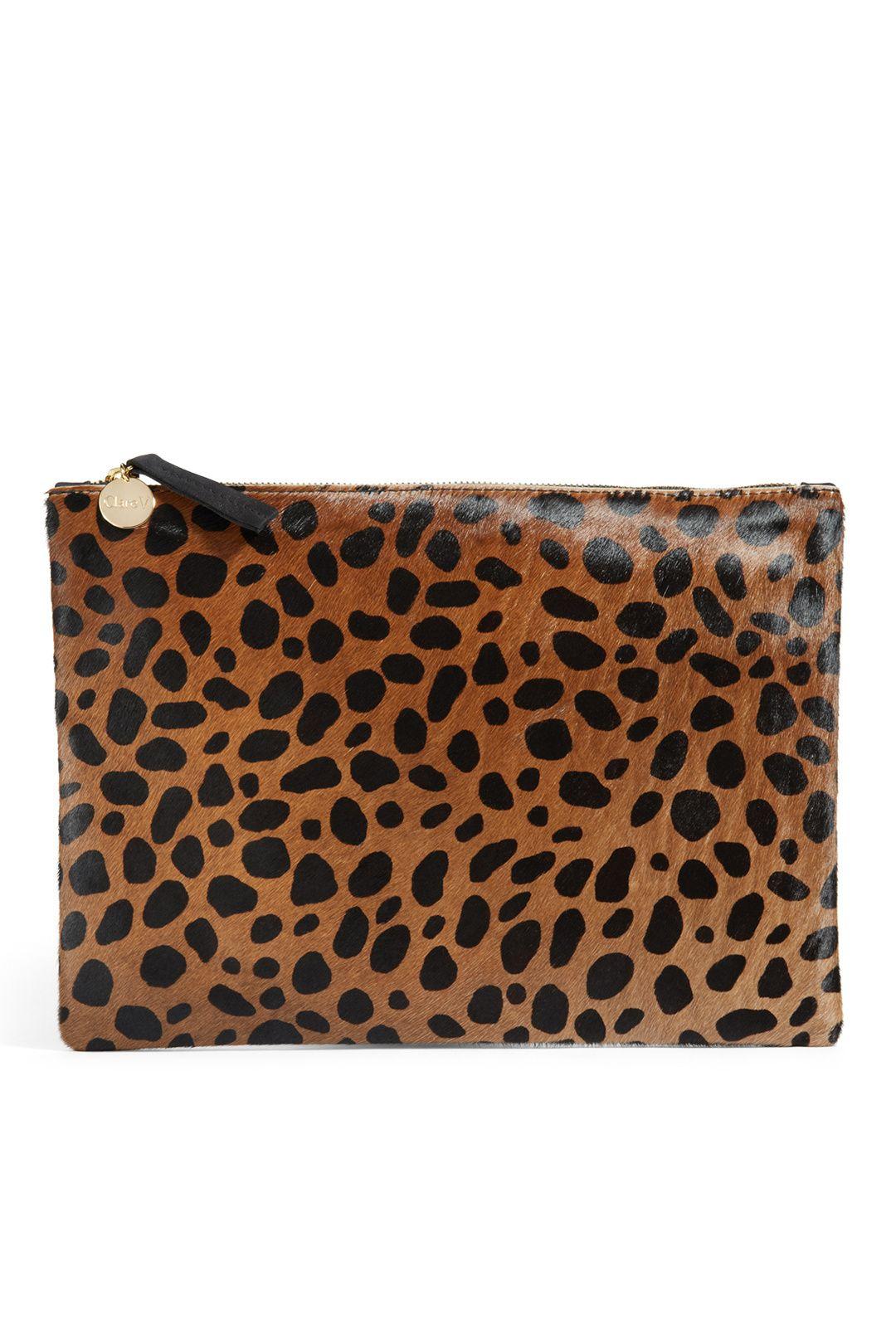 Nicole Miller Cheetah Print Purse /& wallet//clutch