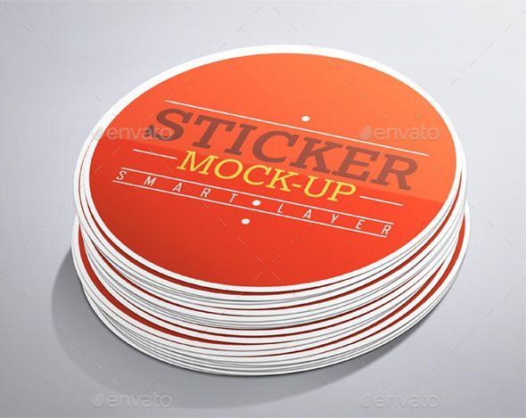 Stickers Mock Up Mockup Design Mockup Mockup Psd