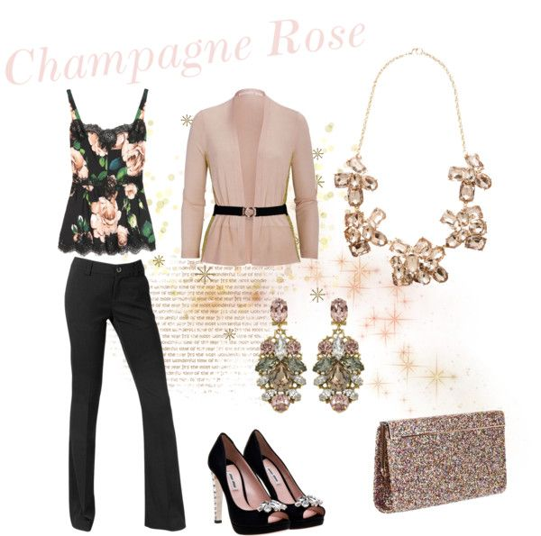 """""""Champagne Rose"""" by redznowhite on Polyvore"""