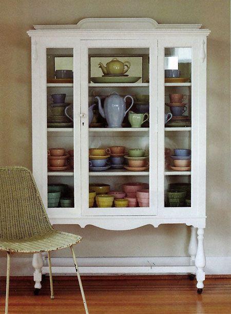 paint it white via poppytalk | Painted Vintage Furnishings ...