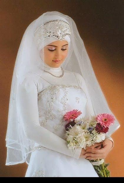 ارقى واجمل فساتين زفاف للمحجبات 2014 Bridal Hijab Wedding Dresses Fashion