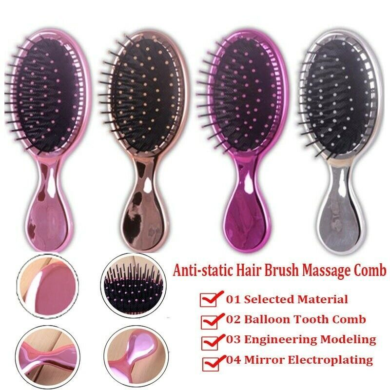 Anti Static Hair Brush Massage Comb Tangle Teezer Brush Salon Hair Styling Tools Hair Tangles Ideas Of Hair Tangles Hai Static Hair Brush Salon Hair Tools