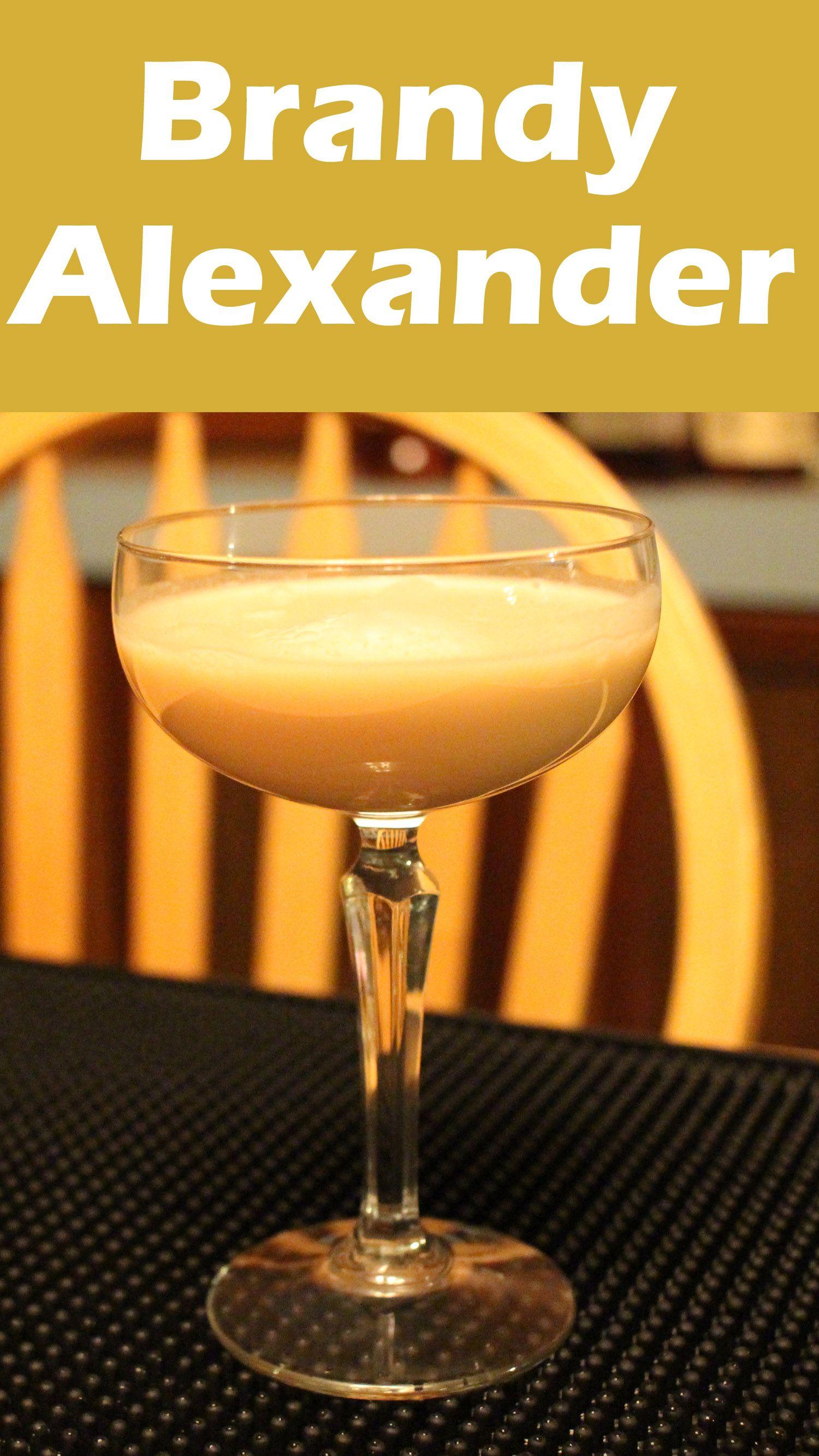 Brandy Alexander Cocktail An Awesome Drink Recipe Brandy