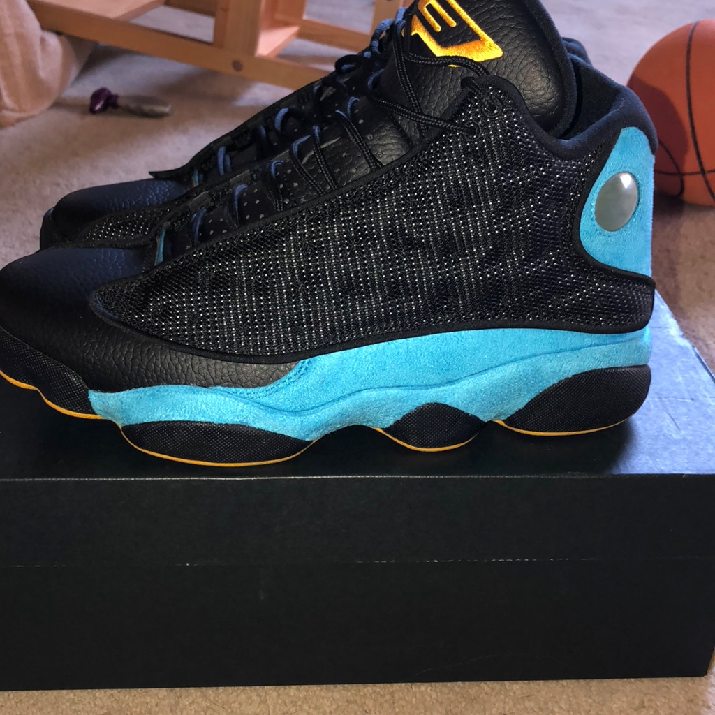 buy online 77bc2 52c75 Jordan Shoes | Jordan Retro 13 Cp3 | Color: Black/Blue ...