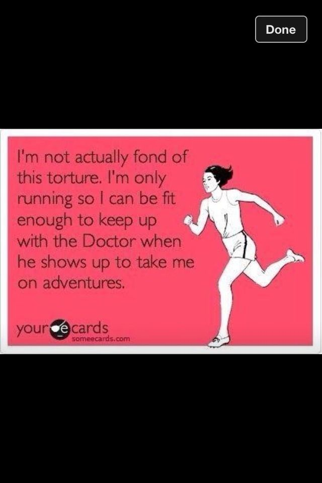 """Run""  - The Doctor"
