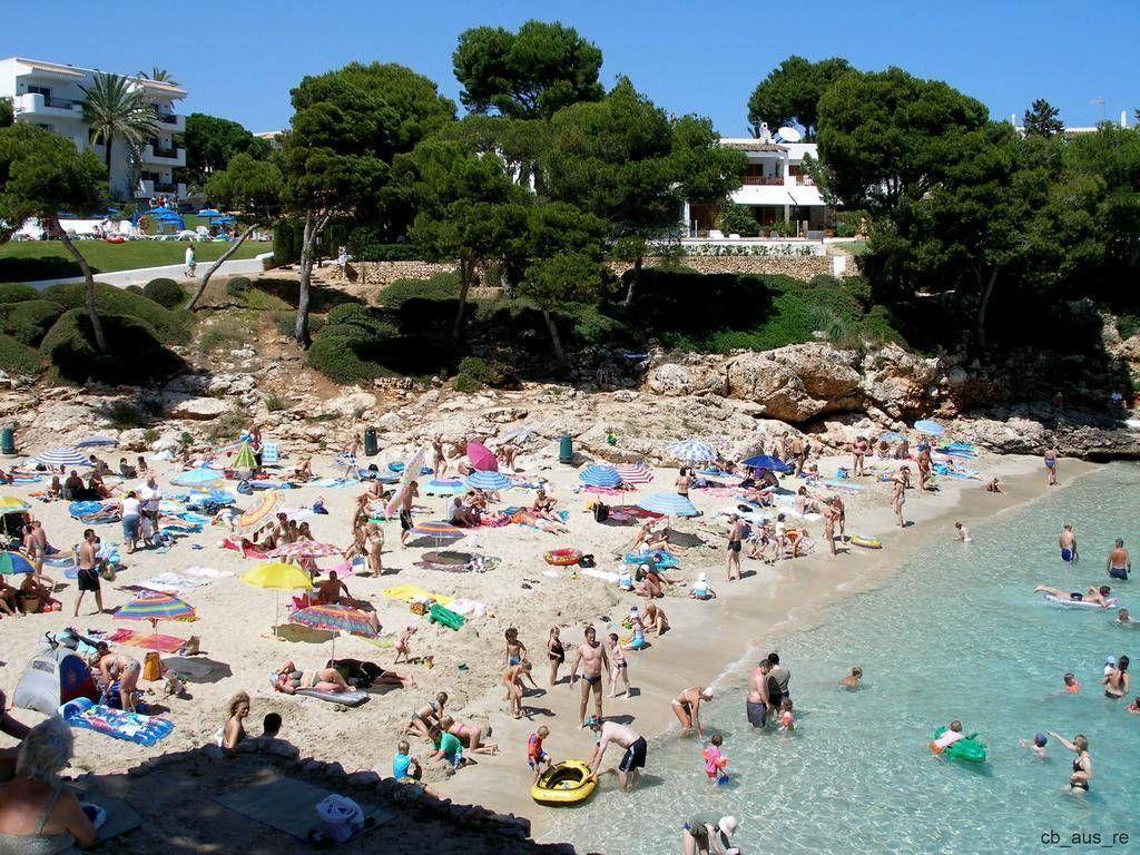 Cala d Mallorca Hotel Inturotel Playa Esmeralda Beach Strand